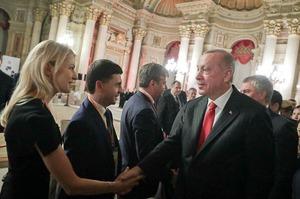 МЗС України направило ноту протесту Туреччині через зустріч Ердогана з кримськими депутатами