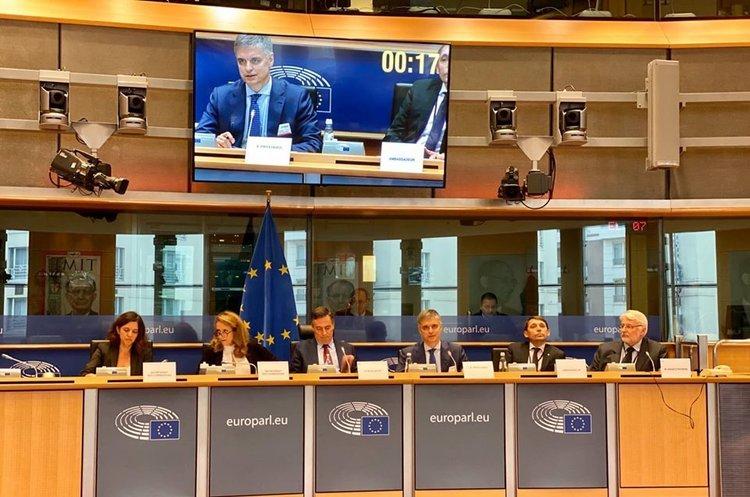 Пристайко розповів ЄС про своє покрокове бачення реалізації «формули Штайнмаєра»