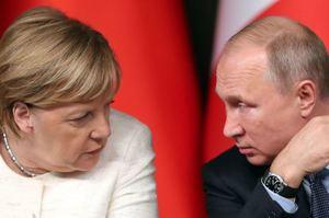 Меркель і Путін обговорили зустріч у «нормандському форматі» і транзит газу Україною