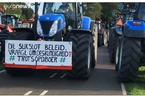 У Нідерландах фермери бастують проти заходів уряду щодо глобального потепління