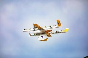 Wing починає доставку товарів безпілотниками в одному з міст США (ВІДЕО)