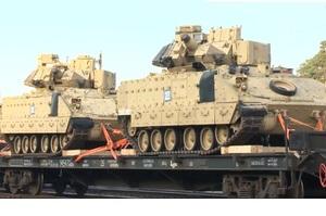 В Литву прибули американські танки