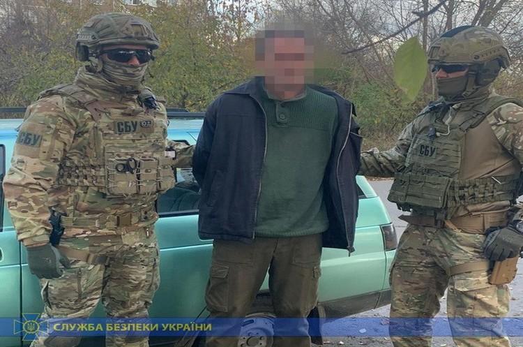 Контрразведка СБУ задержала агента ФСБ РФ при получении секретных военных документов