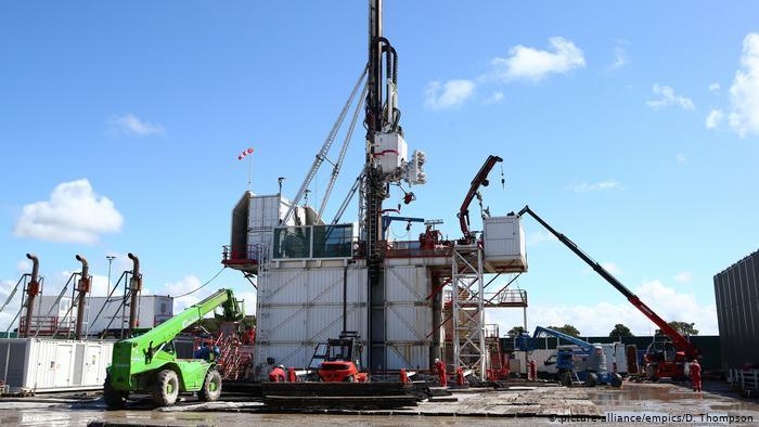 Британія припинила видобуток газу методом фрекінгу після серії підземних поштовхів