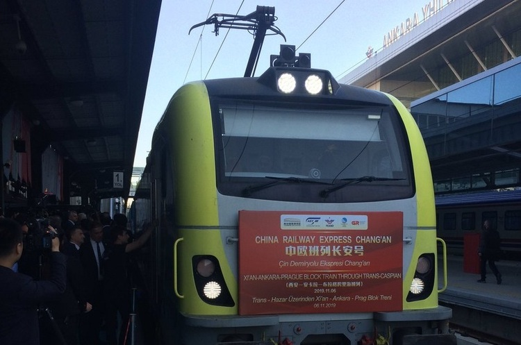 Під Босфором пройшов перший контейнерний поїзд з Китаю в Європу