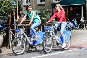 Користувачі київського велопрокату Nextbike «накатали» вже 165 тисяч кілометрів