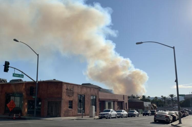 У Каліфорнії евакуювали студію Warner Brothers внаслідок лісових пожеж