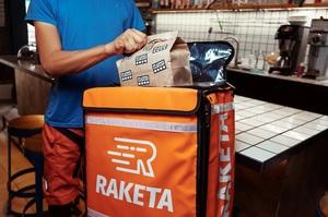 Cервіс доставки їжі Raketa розпочав роботу в Києві