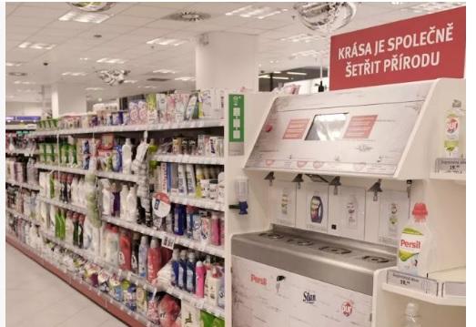 В Чехії шампуні та гелі для душу продають на розлив у рамках боротьби з пластиком