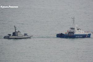 Передача Україні трьох кораблів ВМФ, затриманих в районі Керченської протоки, відбулася — МЗС РФ