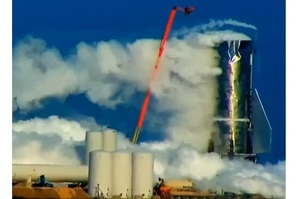 Прототип Starship вибухнув під час випробувань (ВІДЕО)