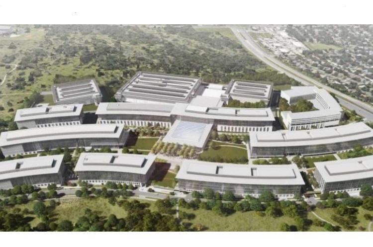Apple будує новий офіс за $1 млрд зі справжнім заповідником