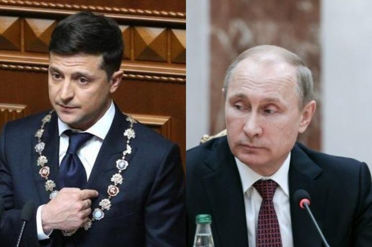 Зеленський поговорив по телефону з Путіним