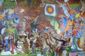 Синдром медиазависимости: как его видят художники Савадов, Цаголов, Голосий и Тистол