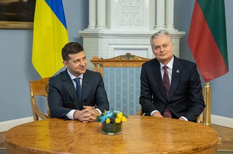 Президенти України та Литви підписали низку документів в рамках засідання Ради президентів