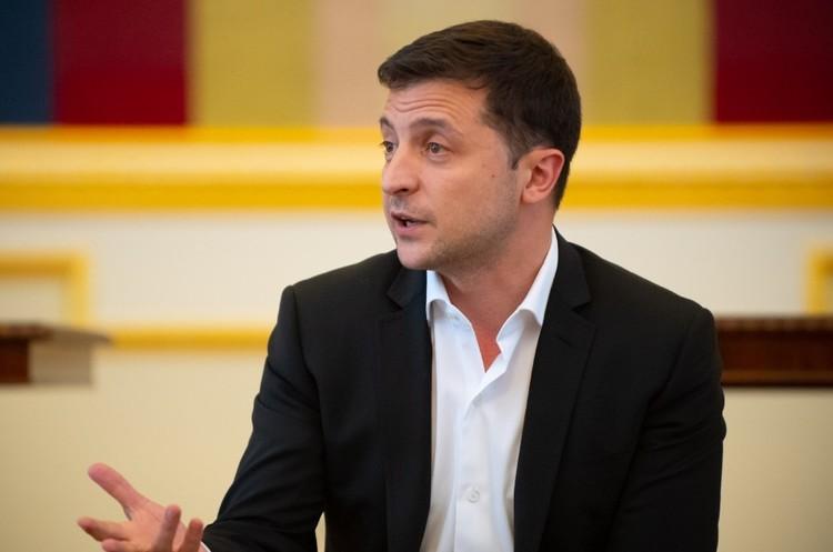 «Я не хочу, щоб Україна була фігурою на шаховій дошці великих держав» – інтерв'ю Зеленського
