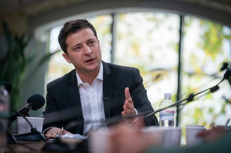 Зеленський хоче, щоб США допомогли Україні повернути Крим
