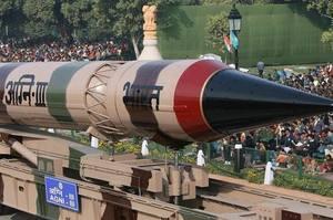 Індія випробувала балістичну ракету, здатну нести ядерний боєзаряд
