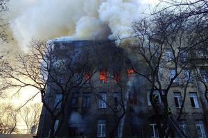 Масштабна пожежа в Одесі: горить пам'ятник архітектури, є  постраждалі і загиблі (ОНОВЛЕНО)