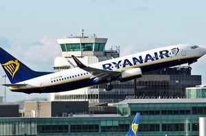 Ryanair припинить літати з Києва в Нюрнберг та Скавсту через брак літаків