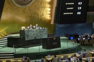 Генасамблея ООН вимагає в Росії вивести війська з Криму