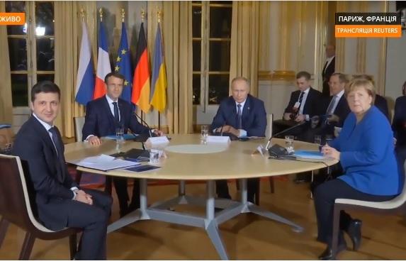 Reuters: Зеленський і Путін під час першої зустрічі не потиснули один одному руки
