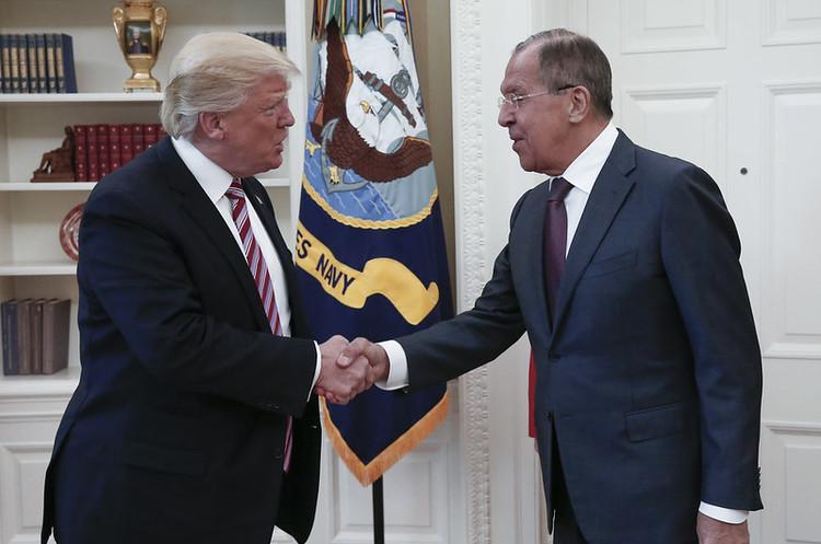 Лавров та Трамп розійшлись у згадках про свою зустріч