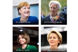 Ангела Меркель очолила список найвпливовіших жінок світу за версією Forbes