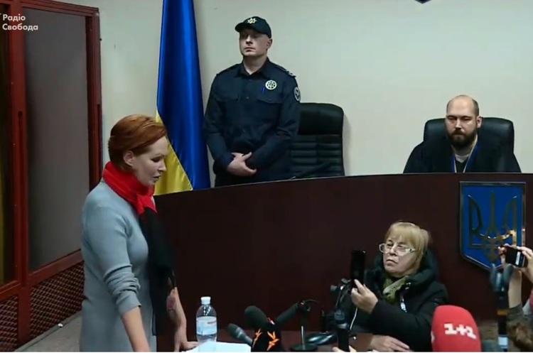 Справа Шеремета: суд визначився з запобіжним заходом для медика Юлії Кузьменко