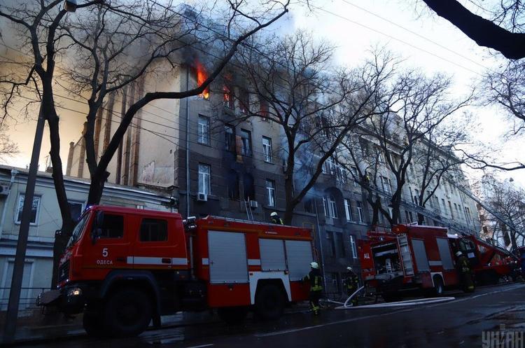 СБУ повідомила про спробу ДСНС знищити документи перевірки коледжу Одеси
