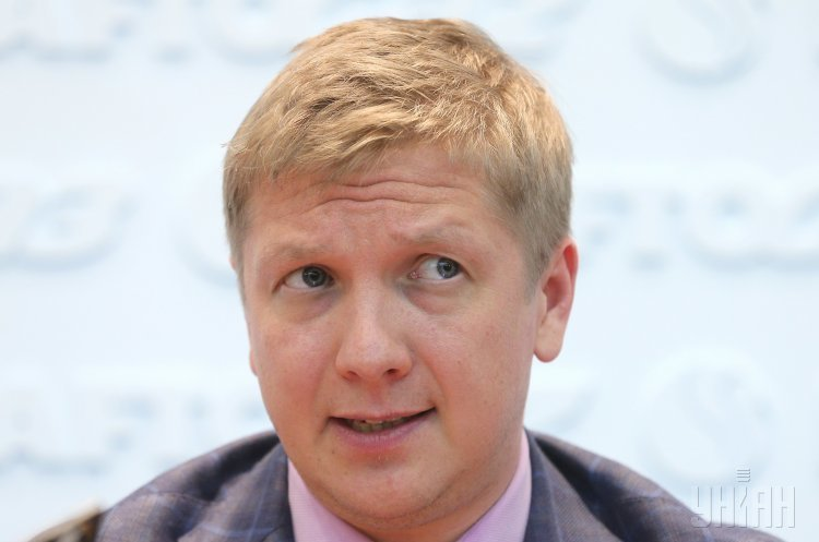 Договір про транзит газу може бути підписаний з «Газпромом» аж навесні – Коболєв