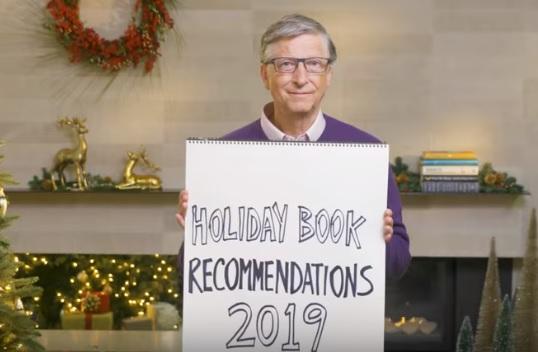 5 літературних уподобань цієї зими від Білла Гейтса