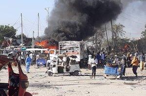Теракт в сомалійський столиці забрав життя понад 90 чоловік