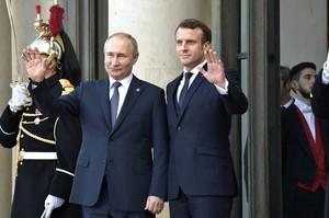 Путін поговорив з Макроном про ліквідацію Сулеймані та ситуацію в Україні