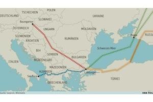 Греція та Пн. Македонія почали отримувати російський газ по «Турецькому потоку»