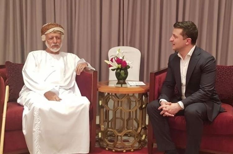 Зеленський домовився з Оманом, який внесено в чорний список ЄС, про торгову співпрацю