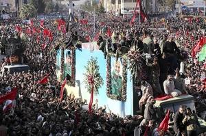 У тисняві під час похорону вбитого іранського генерала загинули 40 людей
