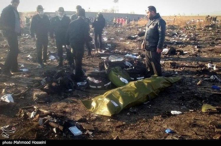 На борту боїнга МАУ, що розбився біля Тегерана, було 176 осіб, усі загинули