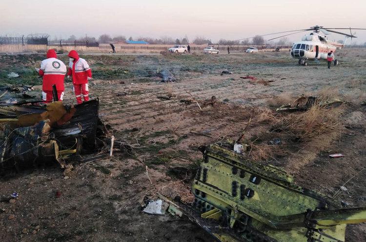 Тегеран спростовує версію про  те, що український літак був збитий