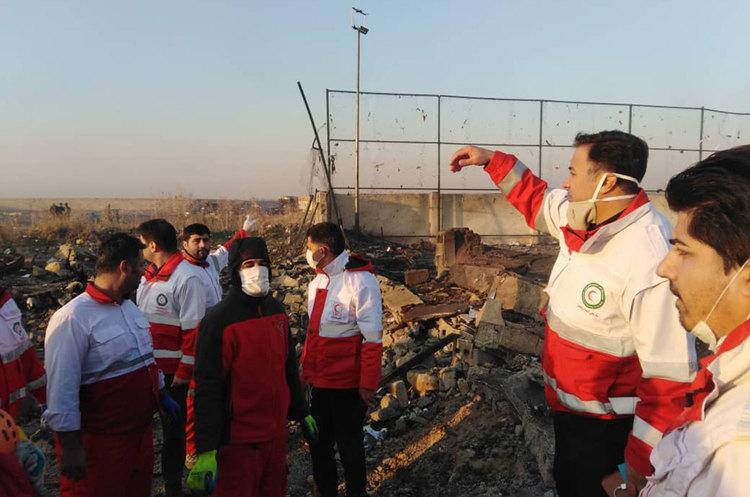 Посольство України відредагувало опубліковану раніше заяву щодо авіакатастрофи в Ірані