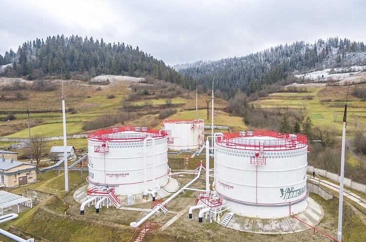 «Укртранснафта» збільшила обсяги транспортування нафти на українські НПЗ до максимуму за 5 років