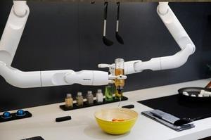 CES 2020: Samsung представила робота, який сам готує салати