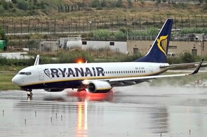 Ryanair запустив другий рейс в Херсон