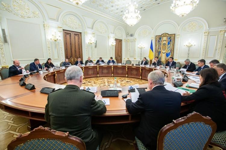 На засіданні РНБО під головуванням Зеленського обговорили оборонну стратегію України