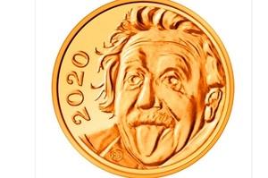 У Швейцарії випустили найменшу в світі монету з Ейнштейном
