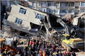 Землетрус у Туреччині: Кількість загиблих зросла до 31 особи, 9 людей досі під завалами