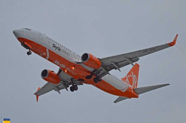 SkyUp призупиняє пряме авіасполучення з Китаєм через коронавірус