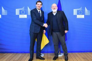 Україна пропонує ЄС спільно працювати над втіленням «Європейської зеленої угоди» - Гончарук