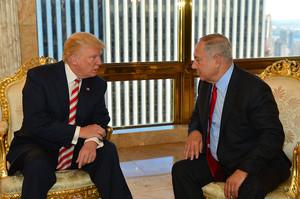 Трамп представив план близькосхідного врегулювання, Нетаньяху – підтримав