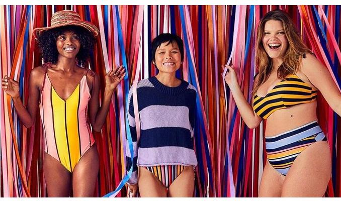 Модний бренд Aerie випустив нову колекцію купальників із переробленого пластику